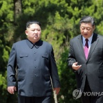 """트럼프 """"김정은, 시진핑 두번째 만나고 바뀌었다""""…또 '배후론'"""