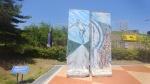 고성 DMZ 박물관에 ' 베를린 장벽' 설치