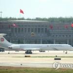 김정은, 이틀 일정 베이징 방문 마쳐…전용기 이륙