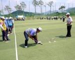 홍천군 노인회장기 게이트볼대회