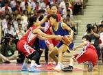 남북 농구팀, 경쟁과 화합의 '점프볼'