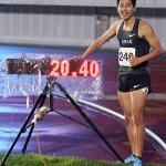[커버스토리 이사람] 육상 200m 한국기록 수립 박태건