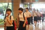 코리아오픈 탁구대회 찾은 북한선수단