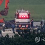 """10m 상공서 곤두박질""…해병대 헬기 점검비행 중 추락 참사"