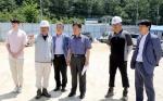 양구군수 사업현장 점검