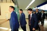 동해선 철도 점검단 방북
