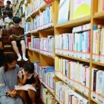 도서관 피서