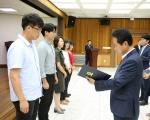 홍천 민원친절 공무원 포상