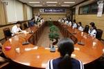 일본 다이센정 중학생 양양군 방문