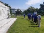 독립투사 이준용·한용석 선생 기념비 참배