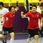 남자핸드볼, 일본과 무승부…조 1위로 그룹결선 진출