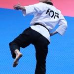 한국선수단 첫 금메달 태권도 품새 강민성