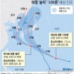 태풍 '솔릭' 한반도 관통 우려…정부 비상체제 가동