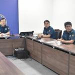 강원경찰 태풍 대비 화상회의