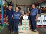 홍천 동면농협 양수기 공급