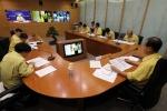 도지사, 대통령 주재 태풍 긴급 화상회의 참여