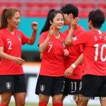 지소연 결승골…여자축구, 3회 연속 동메달 '유종의 미'