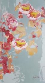 어린시절 추억과 꿈,몽환적 꽃잎에 담다