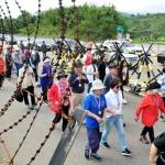 '원산행 기차표를 다오' DMZ 걷기대회 성황