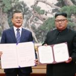 [화보] '실질적 종전' 평양공동선언 하던 날