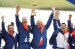 유럽 남자골프, 라이더컵 미국 완파 '안방불패'