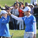 한국, 여자골프 국가대항전 인터내셔널 크라운 첫 우승