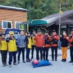 철원소방서 산악구조 훈련