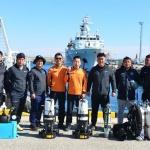 강릉소방서 민관군 수중수색 합동구조훈련