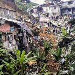 콜롬비아 중비 폭우 산사태