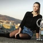 '미녀 스타' 조르지, 오스트리아 레이디스 테니스 우승