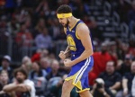 NBA 톰프슨 3점슛 14개 신기록 달성