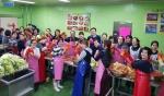 속초학부모연합회 김치나누기