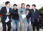 경찰 압송된 양진호 회장