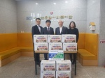 농협 정선군지부 김장김치 전달