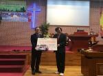 동해제일침례교회 인도네시아 후원금 전달