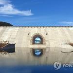평화의댐에 세계 최대크기 트릭아트…'통일로 나가는 문' 벽화