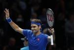 기뻐하는 테니스 황제