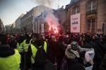 프랑스 노란조끼 시위 물결