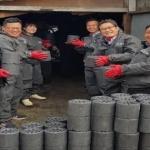홍천군 농업기술센터 독거노인 연탄 배달
