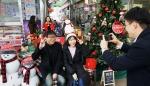 양구중앙시장 크리스마스 포토존 인기