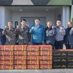 고성군통합방위협의회 통합방위 논의 및 위문품 전달