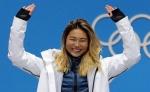 클로이 김, 평창 이후 첫 월드컵서 예선1위