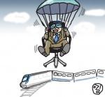 낙하산 인사의 생존법