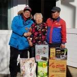 한국도로공사 생필품 전달