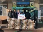 금강농협 농가주부모임 쌀 기탁