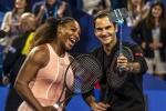 승리의 여신, 테니스 황제에 미소