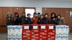 퇴계동 지역사회봉사단 생필품 전달