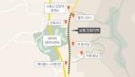 구봉산 전망대 인근 도로폭 줄여 보행로 확대