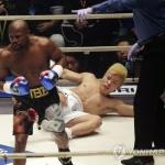 """'139초만에 패배' 일본 킥복서 """"메이웨더, 과소평가했다"""""""