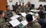 군장병 평일 외출제도 관계자 회의